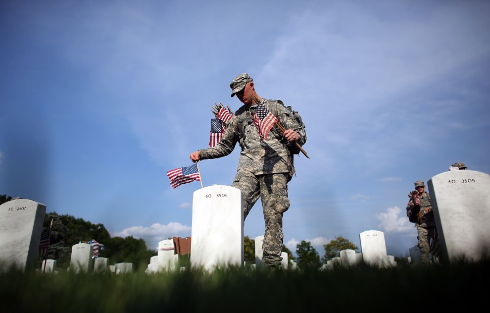 End the War Over Memorial Day by Putting Fallen Veterans First