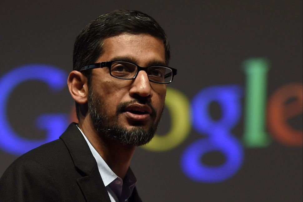 Google CEO Sundar Pichai Is the Most Expensive Tech CEO to Keep Around