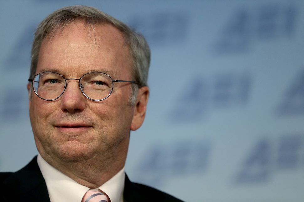 Ex-Google CEO Eric Schmidt Defends Tax Dodging, Monopoly in New Hardball Interview