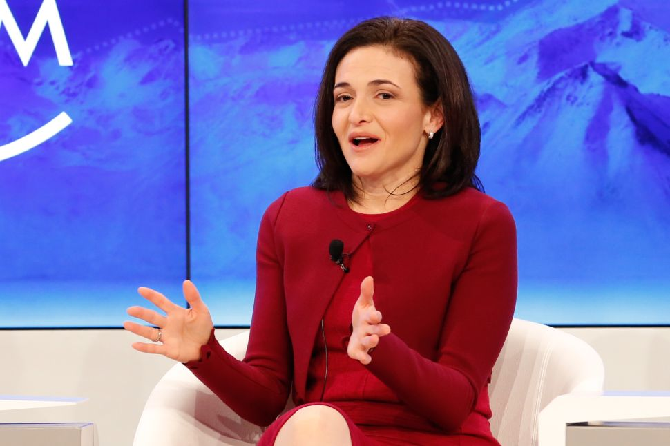 Facebook COO Sheryl Sandberg Pushes Back on Big Tech Breakup