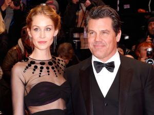 Actor Josh Brolin and his wife Kathryn Boyd Brolin.
