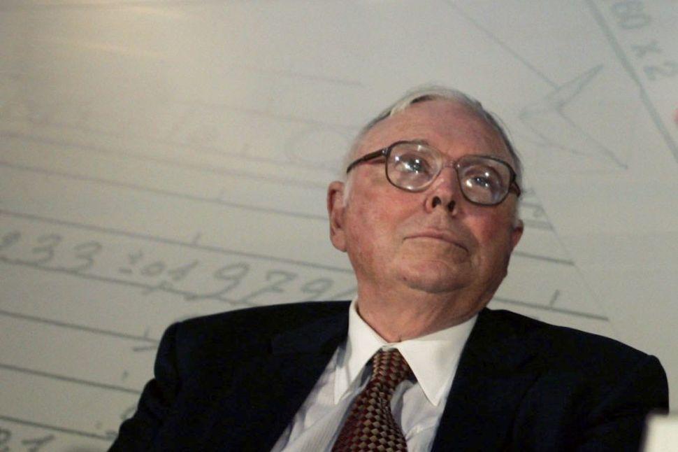 Warren Buffett's Investing Pal Charlie Munger Has Been Busy Designing College Dorms