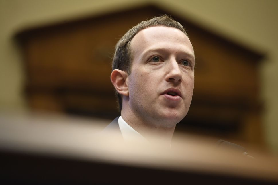 Mark Zuckerberg May Face Contempt Charge After Ignoring Subpoena