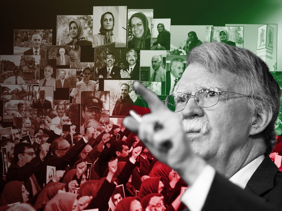 What John Bolton's Iranian Regime Change Looks Like