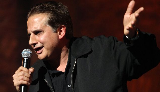 "Comedian Nick DiPaolo performs on stage at ""The Nasty Show"" during TBS presents A Very Funny Festival: Just For Laughs on June 19, 2009 in Chicago, Illinois."