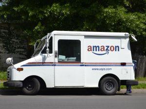Amazon Mail Truck
