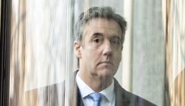 U.S. President Donald Trump's former attorney Michael Cohen.