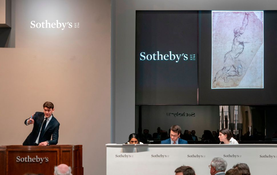 After Auctioning Art for Decades, Sotheby's Sells Itself to a Longtime Client