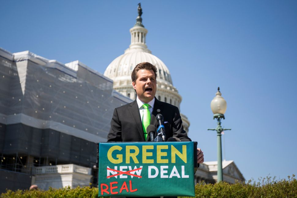 Trump Ally Matt Gaetz Says GOP Needs to Stand Up to Climate Change