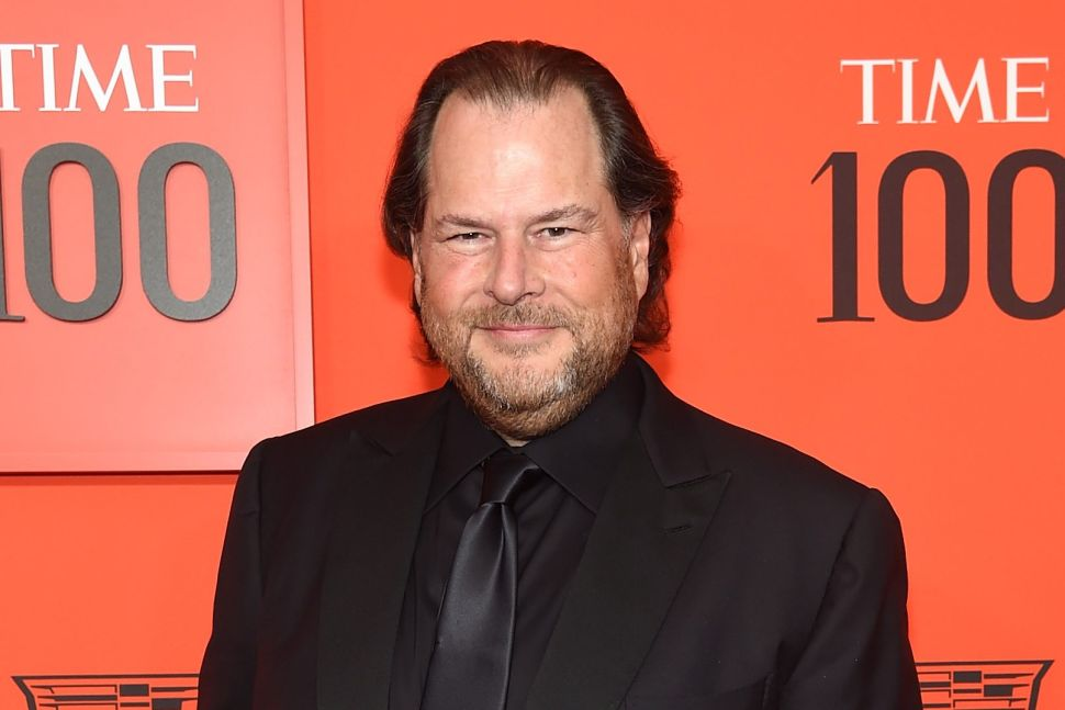 Salesforce's Marc Benioff Has a Tip for CEOs: How Not to Get 'Fired' by Your Employees