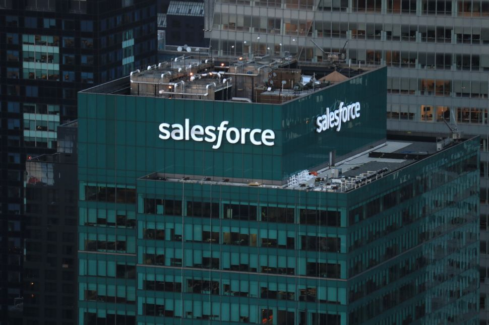 Why Some Salesforce Investors Didn't Like Its Blockbuster Tableau Deal