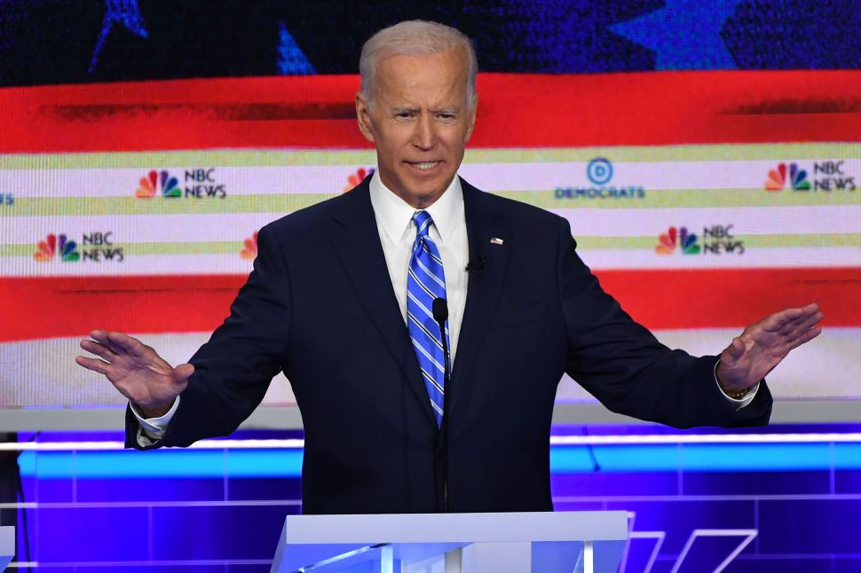 Joe Biden's Face Gives Everything Away