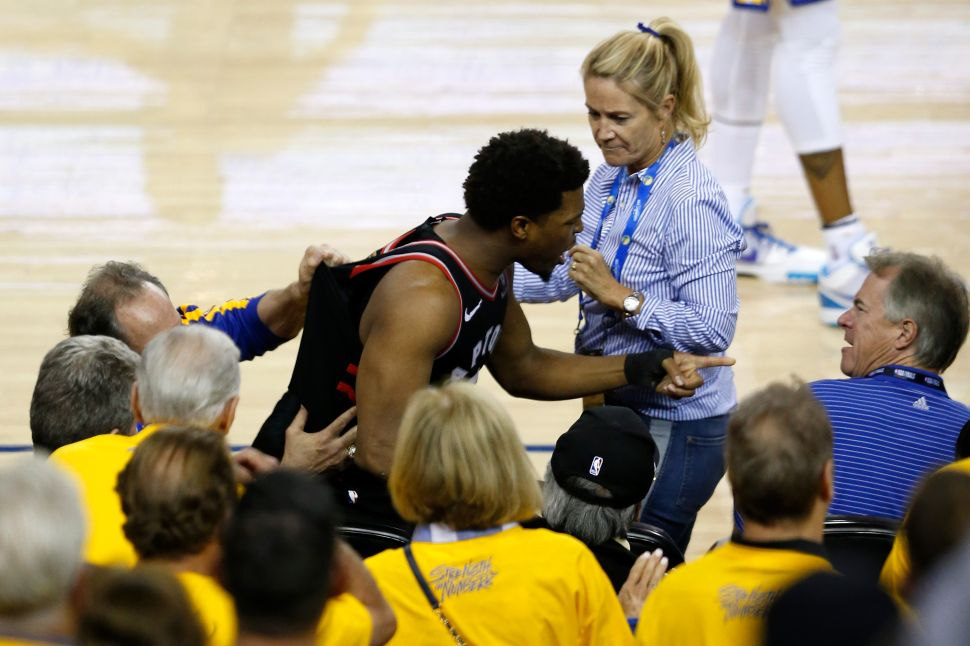 The Fan Who Pushed Raptors Player Kyle Lowry Is a Billionaire Investor