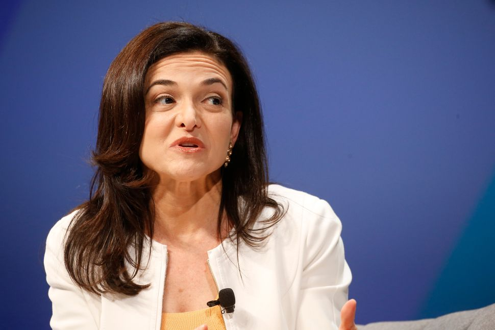 Facebook's Sheryl Sandberg Embarks on Ambassador-Like Defense Tour