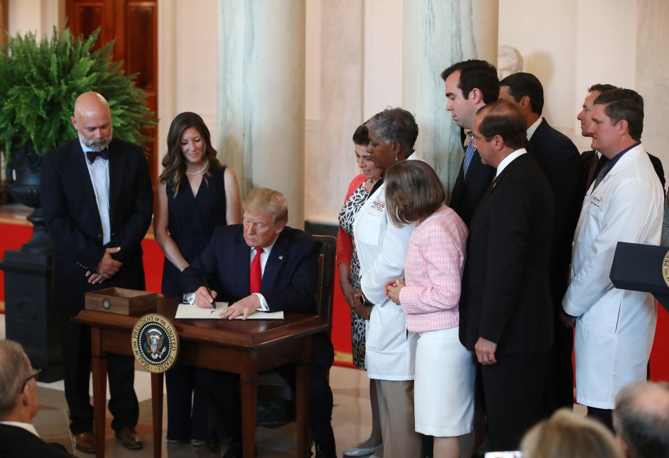 Trump Signs 'Bigger Than Health Care' Order Requiring Hospitals to Disclose Charges