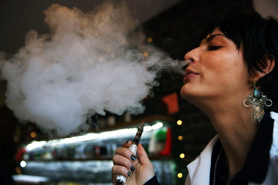 The Federal Government's War on Vaping Comes to New York