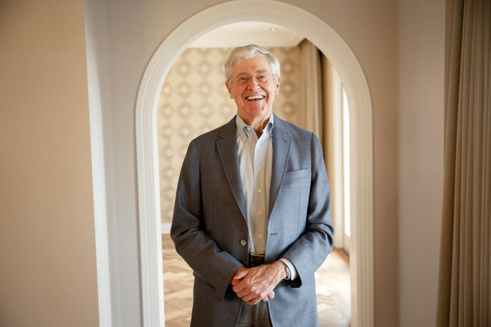 Charles Koch Teams Up With George Soros, Patreon and Airbnb to Fight Online Extremism
