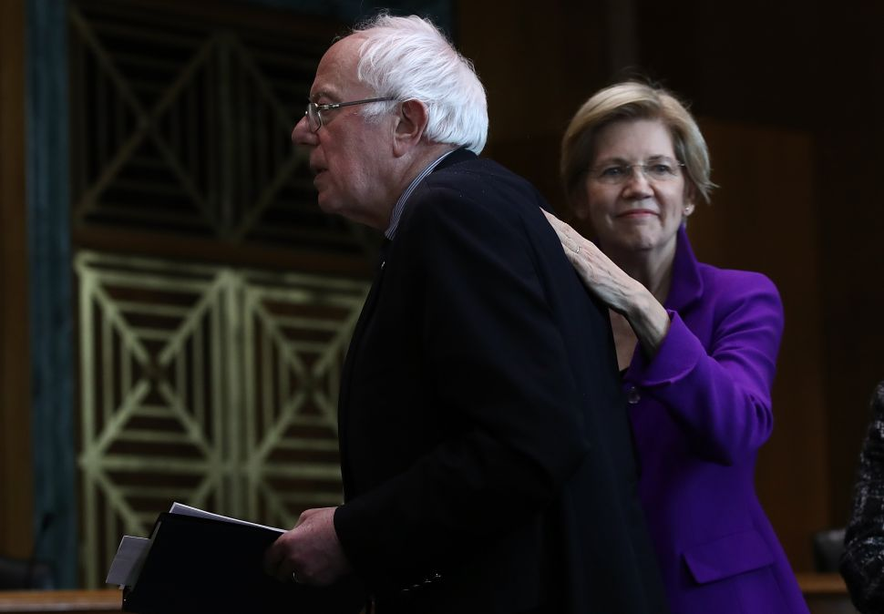 How Elizabeth Warren Leapfrogged Bernie Sanders Into 2nd Place in the Democratic Primary