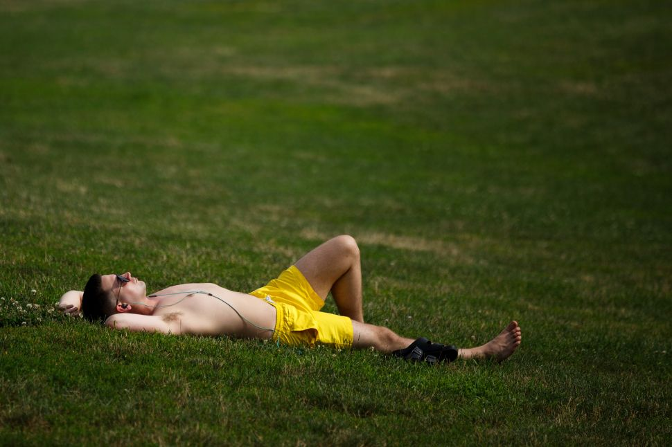 Don't Take Your Mom Here: Prospect Park in the Summertime