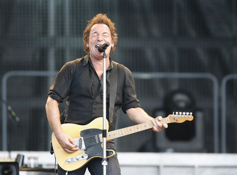 A Facebook Contractor Was Fired After Posting Bruce Springsteen Lyrics