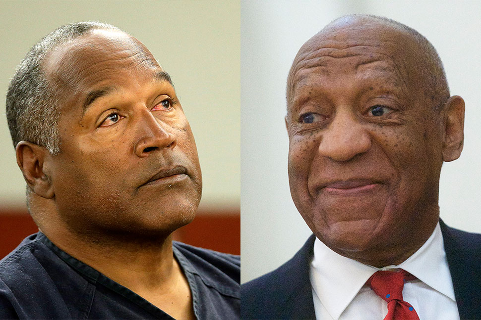O.J. Simpson and Bill Cosby Attempt to Rebrand Using Social Media