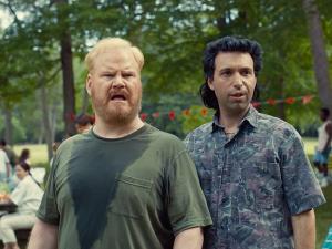 Jim Gaffigan and Alex Karpovsky in Being Frank.