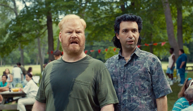 Jim Gaffigan and Alex Karpovsky in Being Frank.