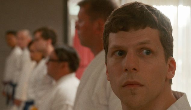 Jesse Eisenberg in The Art of Self-Defense.