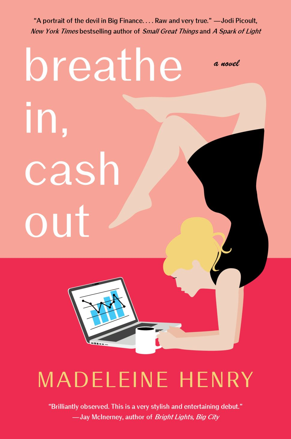 Wall Street and Wellness Butt Heads in Madeleine Henry's Debut 'Breathe In, Cash Out'