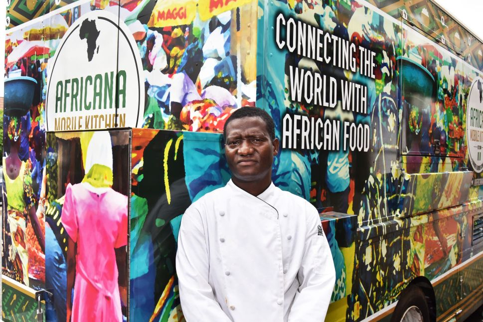 He Sells Jollof Rice Outside the Nigerian Consulate: Q&A With Godshelter Oluwalogbon