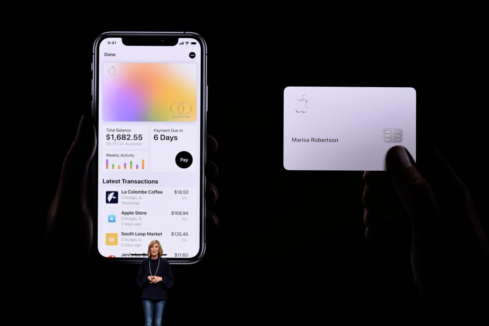 Apple's Latest Invention: Yes, It's a Credit Card