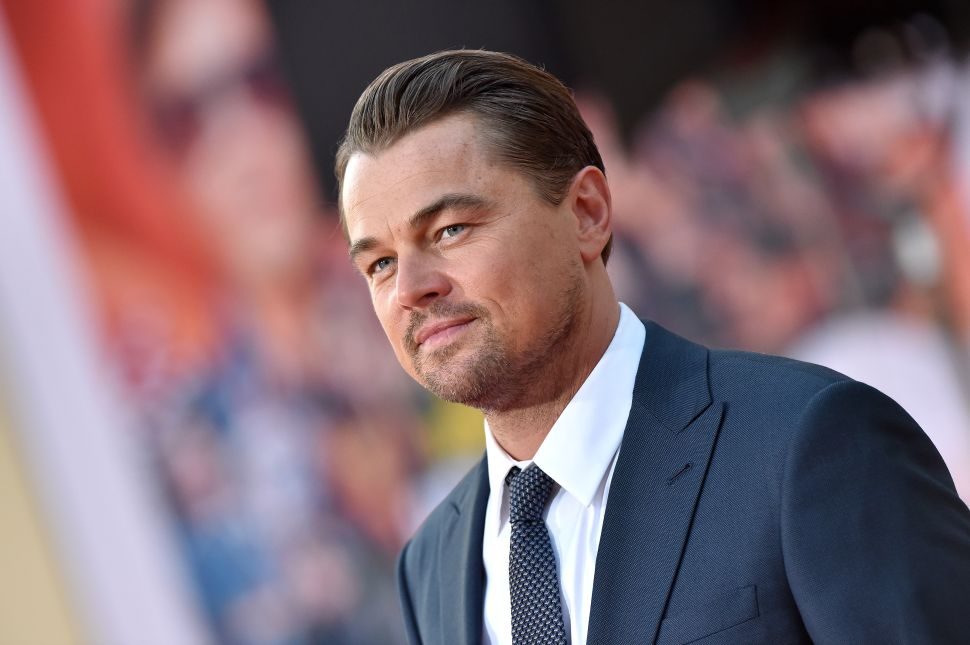 Leonardo DiCaprio's Andy Warhol Drawing Fetched $140,000 at Charity Auction