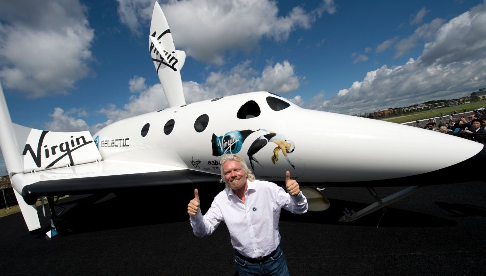 Richard Branson's Space Travel Company Virgin Galactic Is Going Public