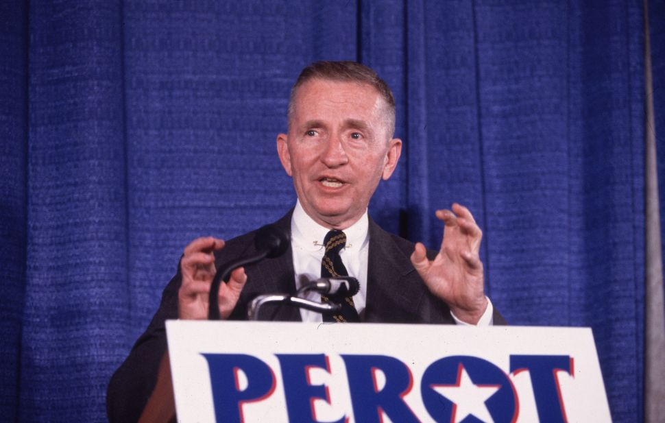 How Ross Perot Helped Give Birth to Donald Trump's MAGA Movement