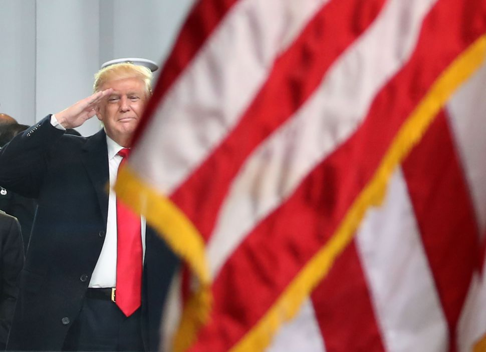 Trump Makes Himself Guest of Honor at America's July 4 Celebration