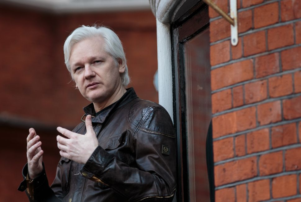 What Tech Did Julian Assange Use at the Ecuadorian Embassy for His DNC Email Drops?