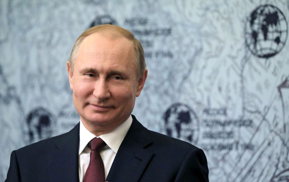 Pentagon Report: Russia Is Already at War With the United States, Basically