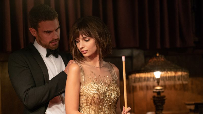 Theo James Turns the Modest 'Lying and Stealing' Into a 'Thomas Crown Affair' Redux