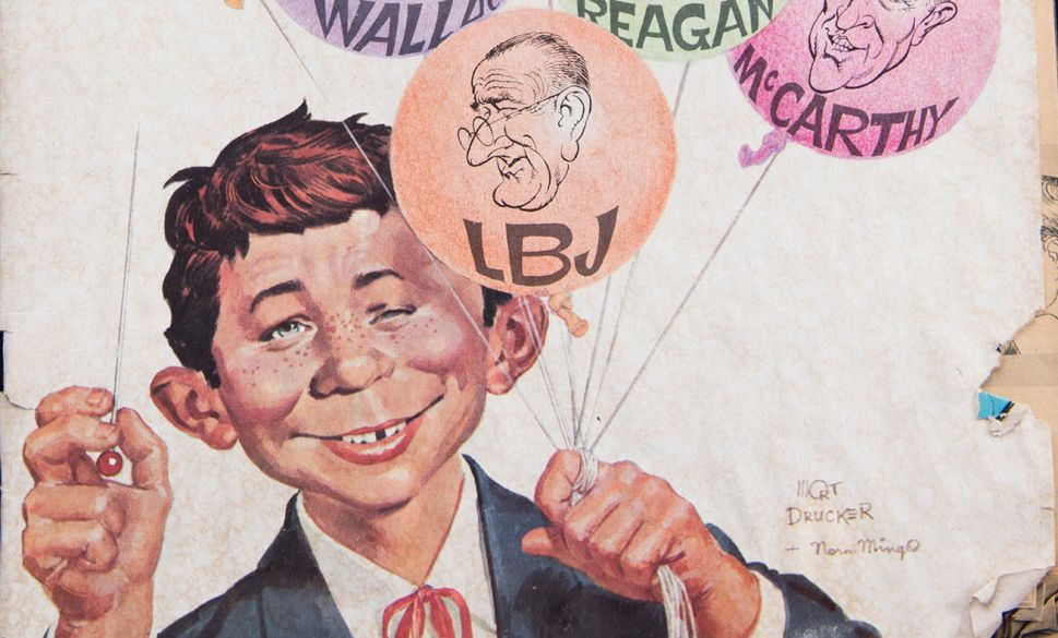 Mad Magazine's Joe Raiola Reflects on 33 Years of Lampooning and Satire