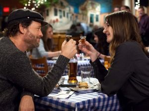Greg Kinnear and Emily Mortimer in Phil.