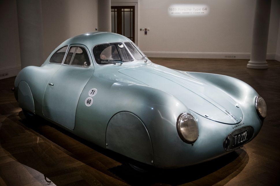 A Rare Nazi-Era Porsche Went Unsold at Sotheby's After a Big Mistake by the Auction House
