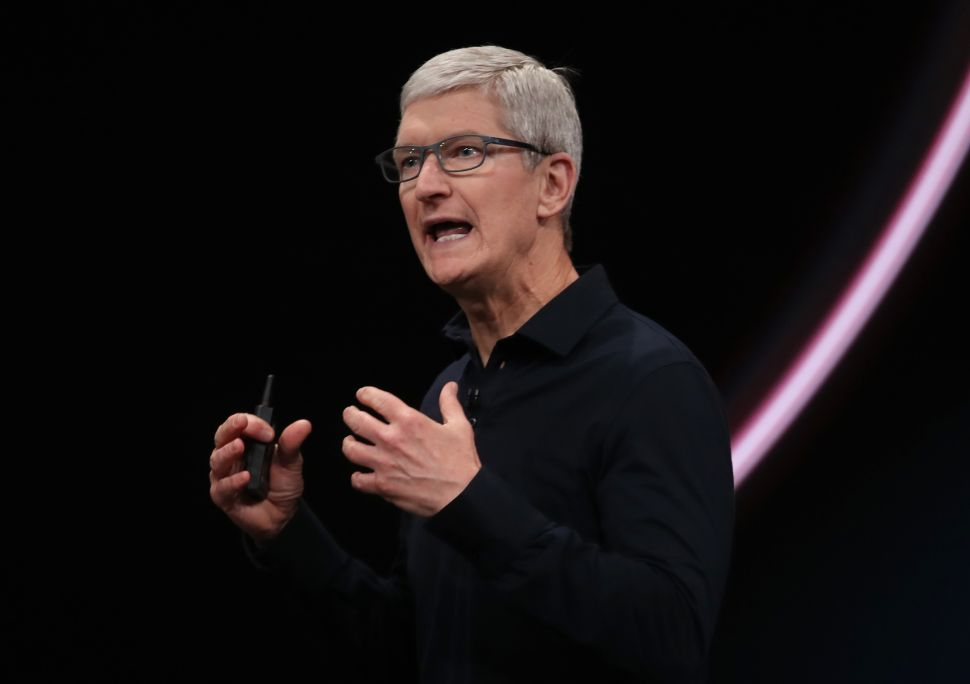 Apple CEO Tim Cook Makes a Strong Case Against China Tariffs—And It's Not About Trade