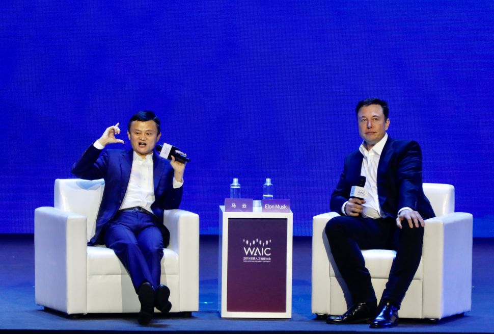 Debate on AI: Elon Musk and Jack Ma Can't Agree on Anything—Except This