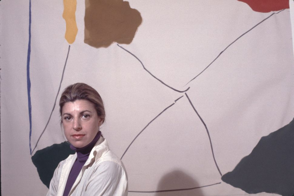 Helen Frankenthaler's Abstract Paintings Strike a Prophetic Note at the Parrish