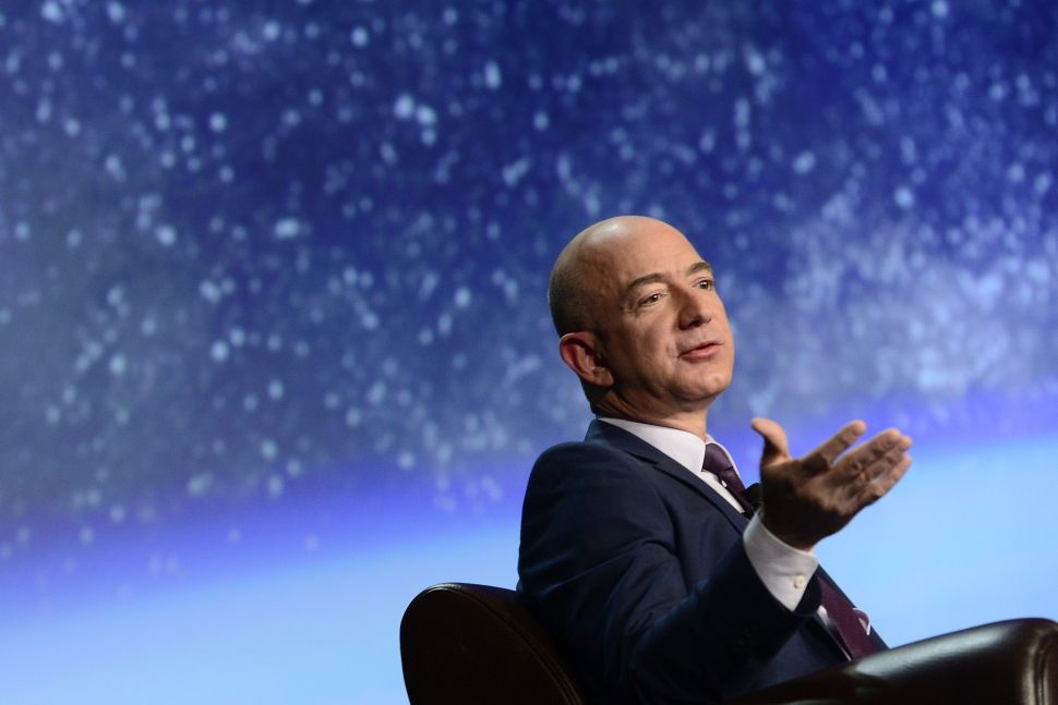 Did Jeff Bezos Just Cash Out $1.8 Billion of Amazon Stock to Fund His Space Dream?