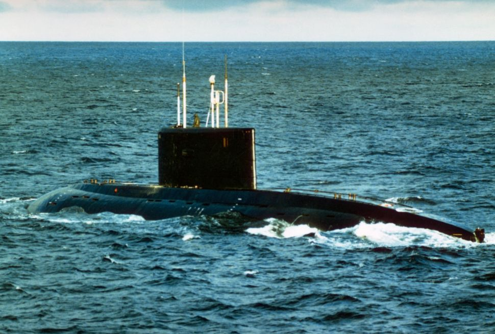 Report: Super-Silent Russian Submarines Are in British Waters, Making Navy Anxious