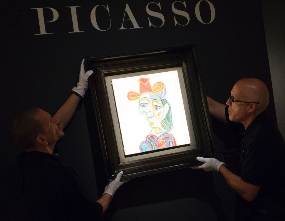 Art Dealer Timothy Sammons Sentenced to Prison for Pocketing Picasso Profits