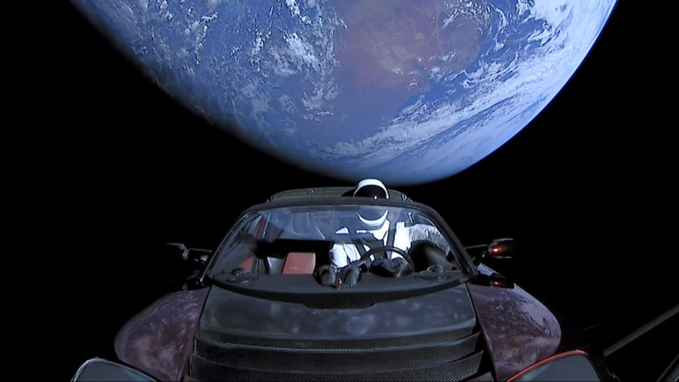 'Starman' Tesla Sent to Space Completes Sun Orbit, May Eventually Crash Into Earth