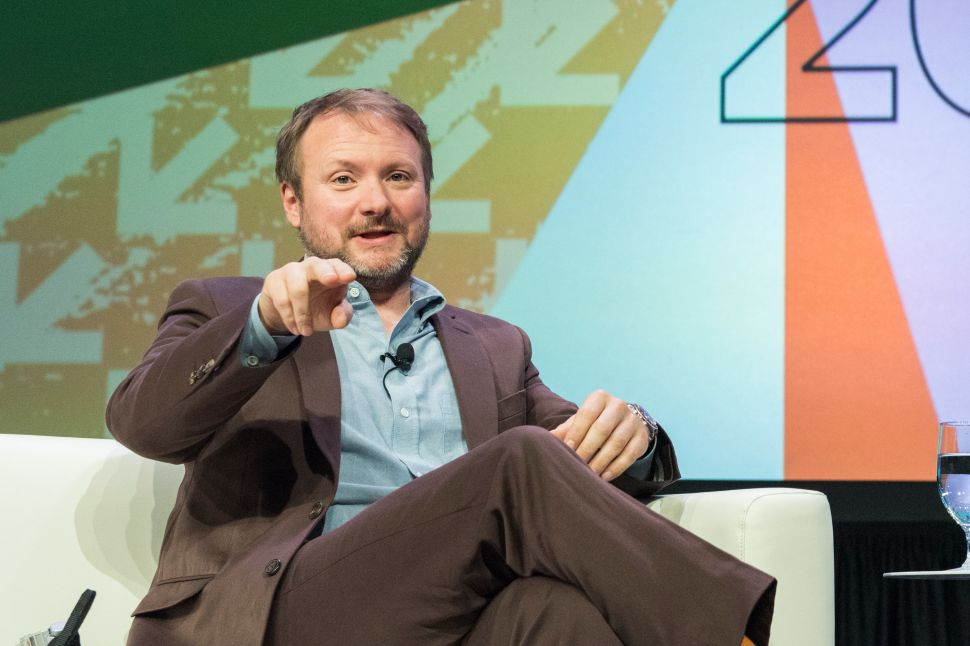 Exclusive: Rian Johnson on the Freedom of His 'Star Wars' Trilogy & 'Knives Out'