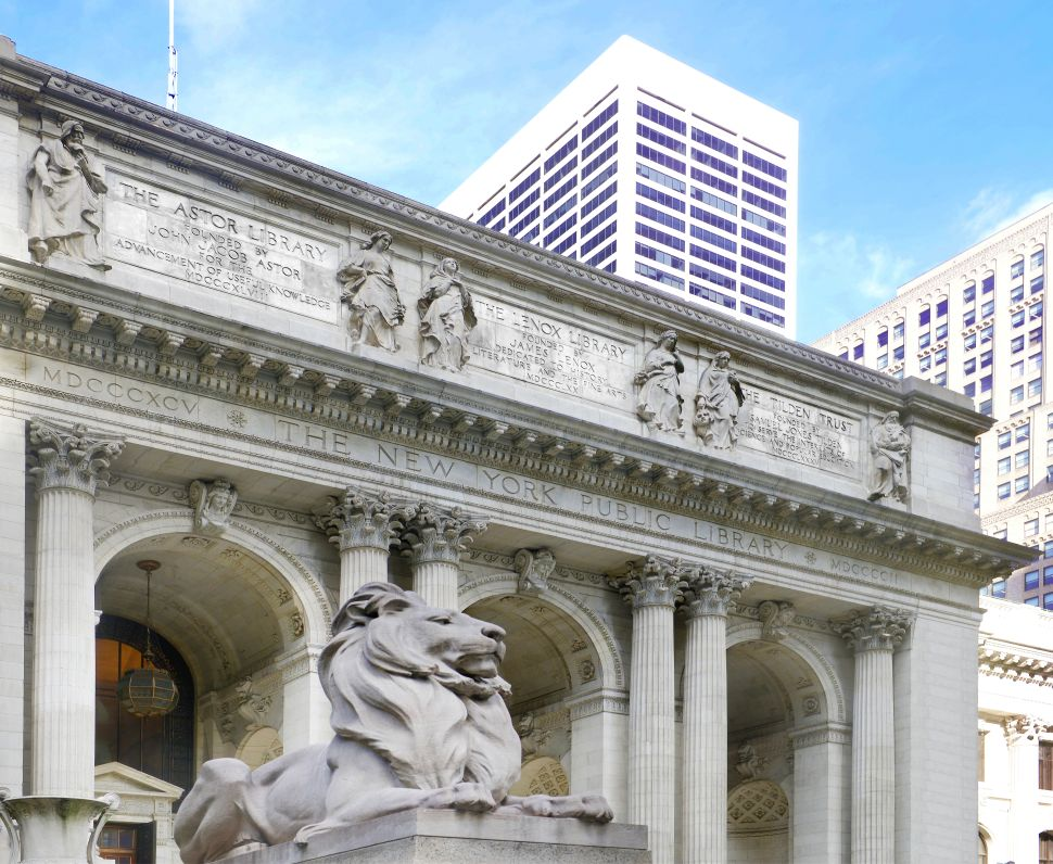 The New York Public Library Lions are Getting a Nine-Week Facelift